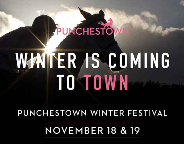 punchestown racecourse Winter festival November 2017