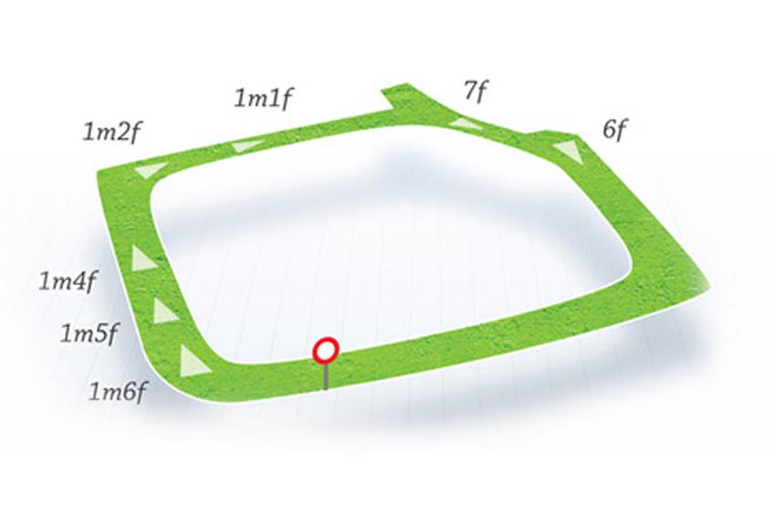 Map Of Ireland Racecourses.Fairyhouse Hri
