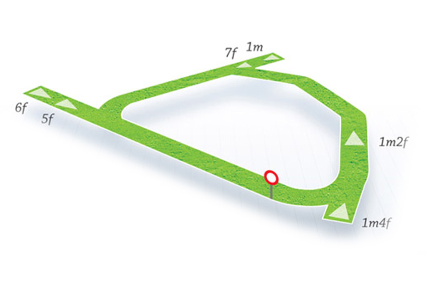 Map Of Ireland Racecourses.Naas Hri