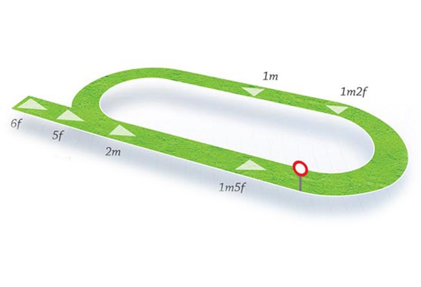 Map Of Ireland Racecourses.Navan Hri