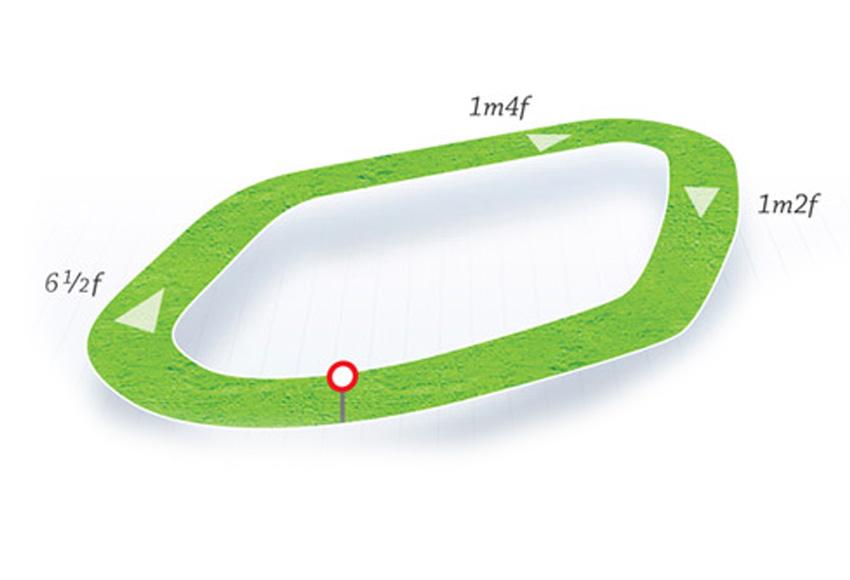 Map Of Ireland Racecourses.Sligo Hri